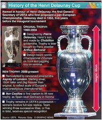 SOCCER: Henri Delaunay Cup infographic