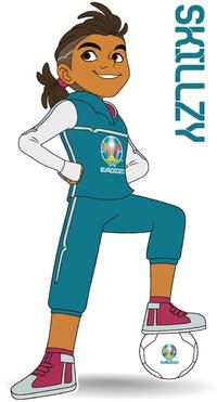 SOCCER: UEFA Euro 2020 mascot infographic
