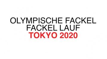 TOKYO 2020: Olympische Fackel  video infographic