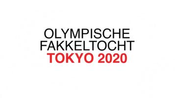 TOKYO 2020: Olympische Fakkeltocht video infographic