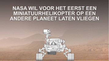 MARS: Helikopter Ingenuity video infographic