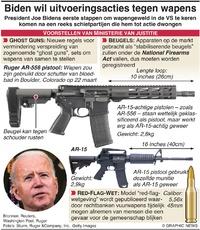 MISDAAD: Bidens actie voor wapencontrole infographic