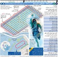 طوكيو 2020: السباحة الأولمبية / ماراثون السباحة infographic