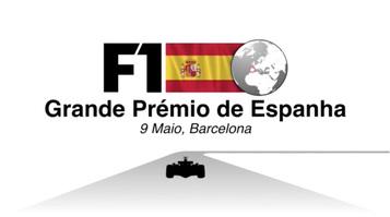 F1: GP de Espanha 2021 vídeo infographic