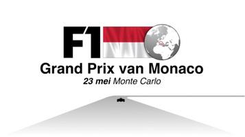 F1: Monaco GP 2021 video  infographic