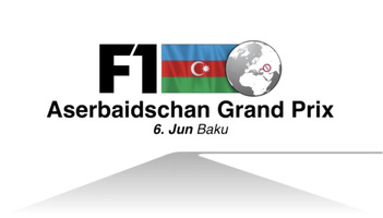F1: Aserbaidschan GP 2021 Video infographic
