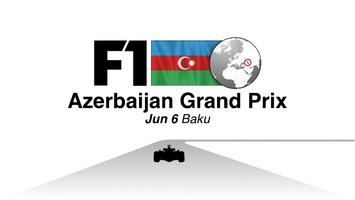 F1: Azerbaijan GP 2021 video infographic