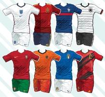 SOCCER: UEFA Euro 2020 team home kits infographic