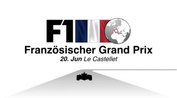 F1: Französischer GP 2021 Video infographic infographic