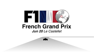 F1: France GP 2021 video infographic infographic