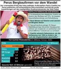 ENERGIE: Perus Bergbauunternehmen vor Wandel infographic