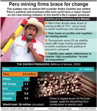 ENERGY: Peru mining firms brace for change infographic