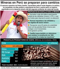 ENERGÍA: Firmas mineras en Perú se preparan para posibles cambios infographic