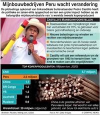ENERGIE: Mijnbouwbedrijven Peru wacht verandering infographic