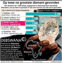 BUSINESS: Grootste diamanten infographic