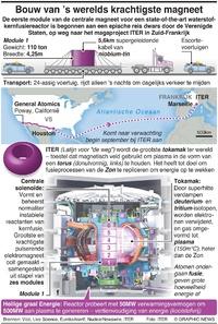WETENSCHAP: Bouw van 's werelds krachtigste magneet infographic