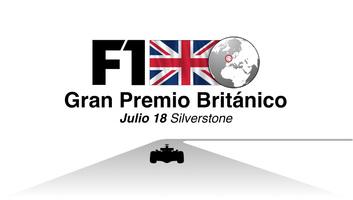 F1: GP Británico 2021 Video infográfico infographic