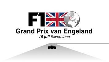 F1: GP van Engeland video infographic infographic