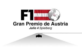 F1: GP de Austria video infográfico infographic