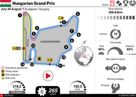 F1: Hungarian GP 2021 interactive infographic