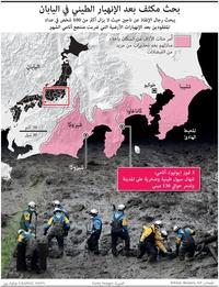 DISASTERS: Japan landslide infographic