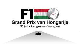 F1: GP van Hongarije video infographic infographic