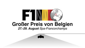 F1: Belgien GP Video infographic infographic