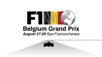 F1: Belgium GP video infographic infographic