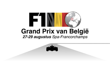 F1: GP van België video infographic infographic