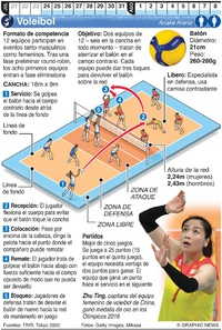 TOKIO 2020: Voleibol Olímpico infographic