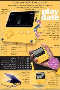 ألعاب: بلايدايت - وحدة تحكم ألعاب يدوية infographic