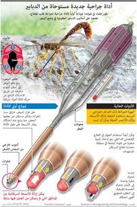 صحة: أداة جراحية جديدة مستوحاة من الدبابير infographic
