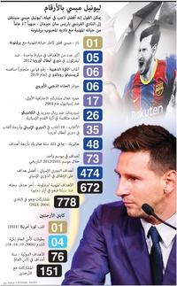 كرة قدم: ليونيل ميسي يوافق على الانتقال إلى باريس سان جيرمان infographic