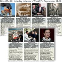 HISTORY: On this day September 12-18, 2021 (week 37) infographic