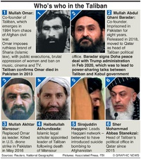 MILITARY: Taliban factbox infographic