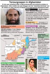 MILITARY: Afghaanse terreurgroepen infographic