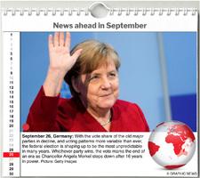 WORLD AGENDA: September 2021 interactive infographic