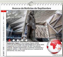 AGENDA MUNDIAL: Septiempre 2021 Intractivo infographic