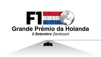 F1: GP da Holanda 2021 - infografia em vídeo infographic