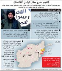 (1) إرهاب: انفجار خارج مطار كابل في أفغانستان infographic