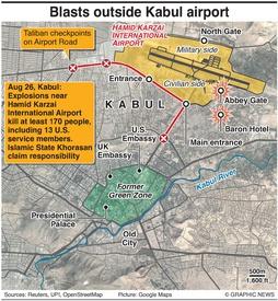 MILITARY: Kabul airport attacks (1) infographic