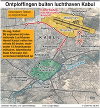 MILITARY: Aanslagen luchthaven Kabul infographic