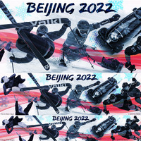 BEIJING 2022: Olympic banner infographic