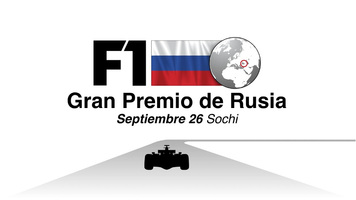 F1: GP de Rusia 2021 Video infographic
