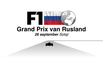 F1: Russia GP 2021 video infographic