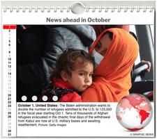 WORLD AGENDA: October 2021 interactive infographic