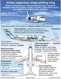AVIATION: Airbus extra performance wing infographic