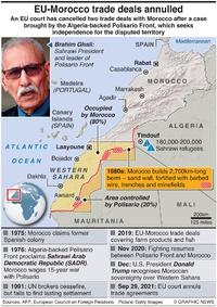 MILITARY: Western Sahara sitrep infographic