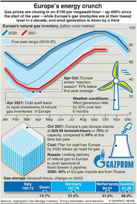 BUSINESS: Europe's energy crisis infographic
