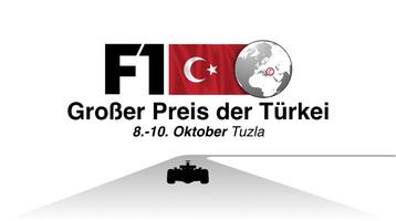 F1: GP der Türkei 2021 Video infographic